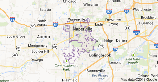26 creative Naperville Illinois Map bnhspinecom