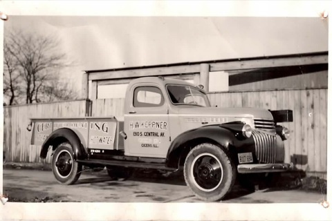 A.W.E. 100 year history Keppner Truck